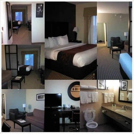 Comfort Suites East Broad at 270: My beautiful and spacious room