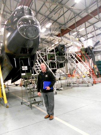 Battle of Britain Memorial Flight Visitor Centre: The Lancaster Pilot