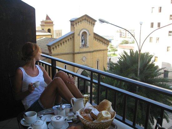 La Dolce Vita - Luxury House: Breakfast on the balcony