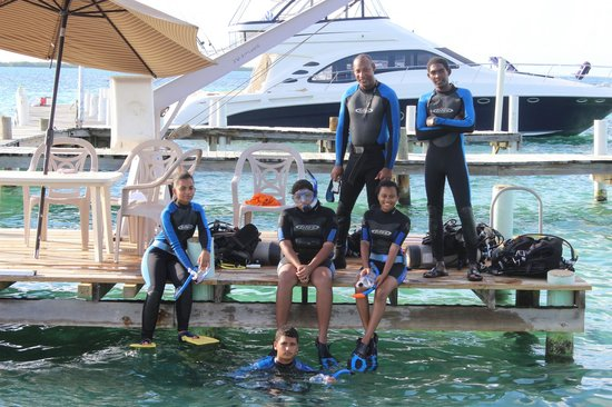 Blue Marlin Beach Resort: Discover Scuba!
