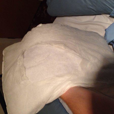 Colwyn Hotel: Pillow