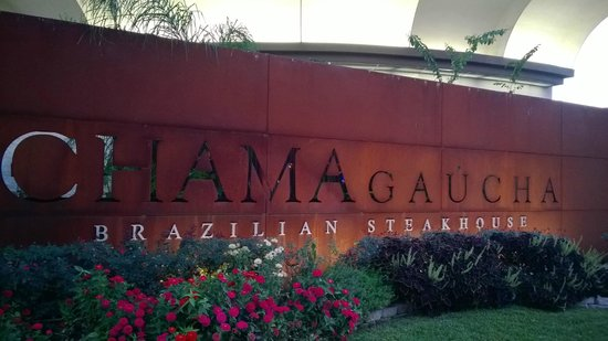 Chama Gaucha Brazilian Steakhouse: view from outside