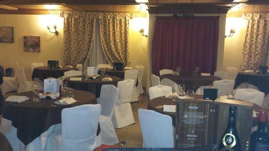 Hotel Gaarten : sala pranzo
