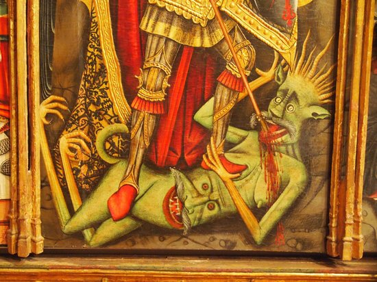 Museo Episcopal de Vic: A devil to look out for.
