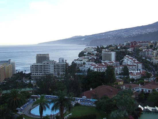 Miramar Hotel Tenerife Island : View from the roof