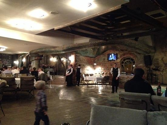 Interior of this gorgeous restaurant picture dzveli