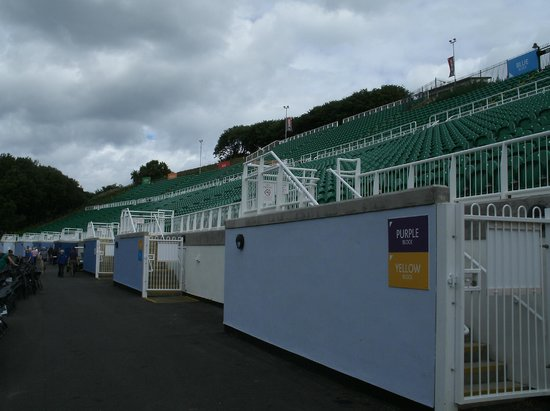 Scarborough Open Air Theatre : open air seating