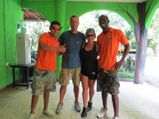 Jaco Canopy Tour: Julio and Lomar are the best!