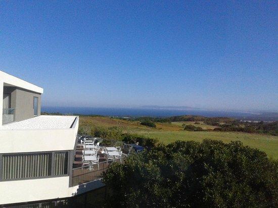 Hotel dos Zimbros: The view