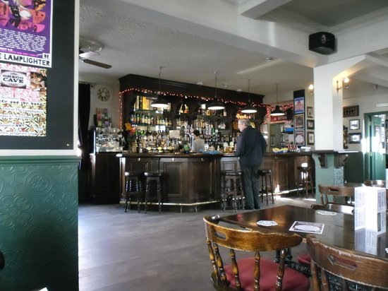The Lamplighter: The bar area
