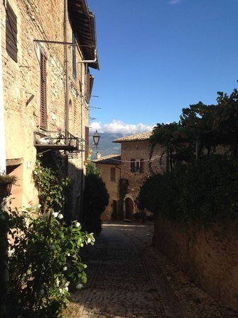 Palazzo Bontadosi Hotel & Spa: Montefalco is a charming village.