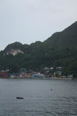 Swiss-Belhotel Papua: Out the window of my harbor-view room
