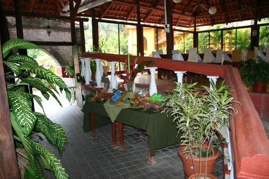 Hotel Manuel Antonio : Hotel Restaurant Entrance