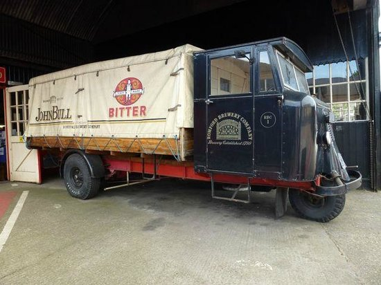 The National Brewery Centre: Old 'Mechanical Horse' Delivery Van