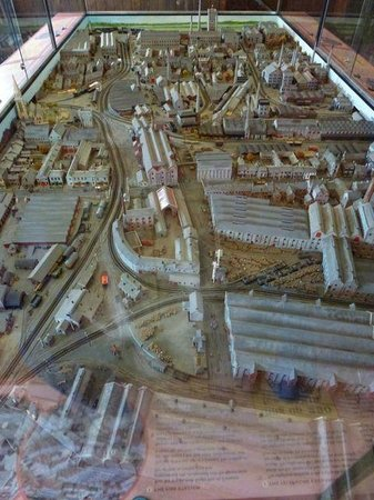 The National Brewery Centre: Model of Burton Breweries