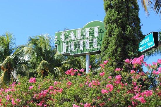 Cadet Hotel: Schön gelegen