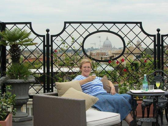 Colonna Palace Hotel : Vistas desde la terraza