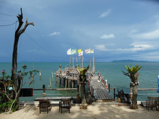 Sang Kha Ou Resort and Spa: Vue du bar