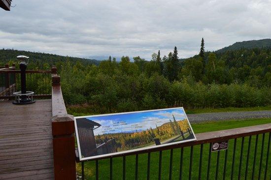 Mt. McKinley Princess Wilderness Lodge: No view today!