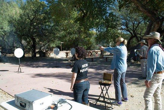 Tanque Verde Ranch: Target practice