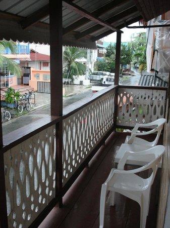 Posada Isla Chica: Varanda