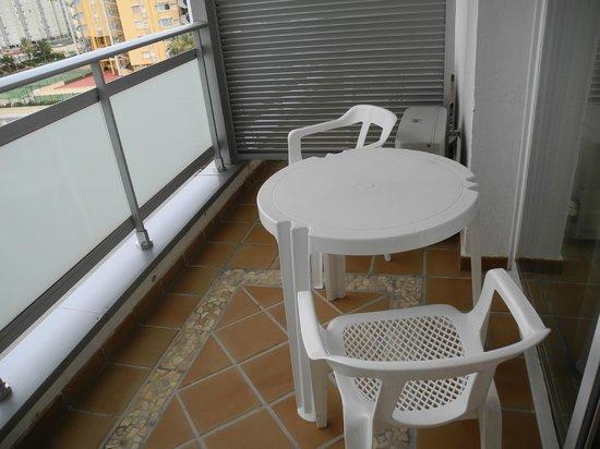 Hotel Tres Anclas: Terraza