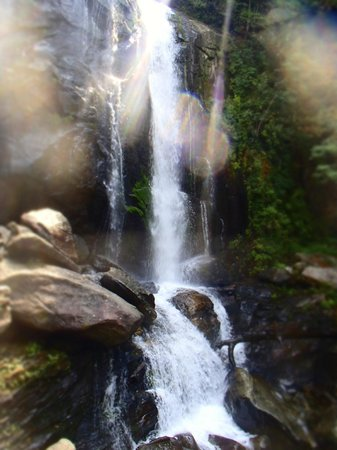 South Mountains State Park: Smaller waterfall