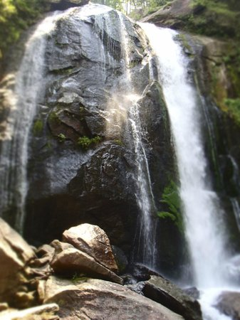 South Mountains State Park: Bottom of the waterfall