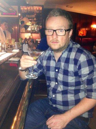 Speakeasy Restaurant: I am James Bond
