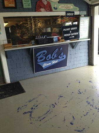 Bob's Clam Hut: Bob's order window