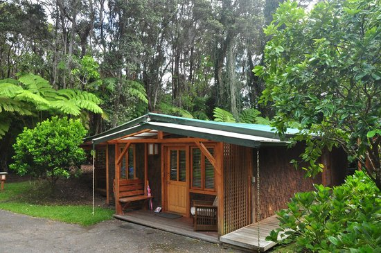 Volcano Places : Kate's Volcano Cottage