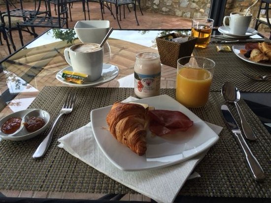 Locanda Le Piazze: Delicious breakfast
