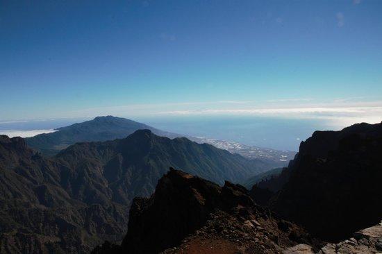 Parque Nacional de la Caldera de Taburiente: West coast of La Palma