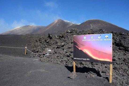 Etnaround - Etna tours, Trekking, Excursions: Etna summit craters - 21/10/2013