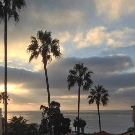 Grande Colonial La Jolla: View from room at sunset
