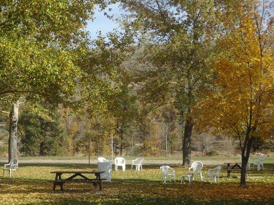 Winthrop Inn: Picnic Area