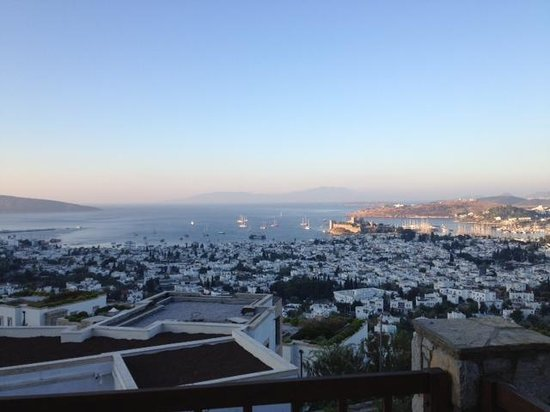The Marmara, Bodrum : view from balcony
