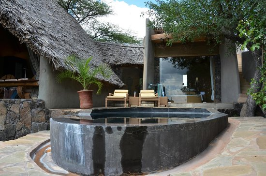 Great Plains Conservation ol Donyo Lodge : Our private plunge pool