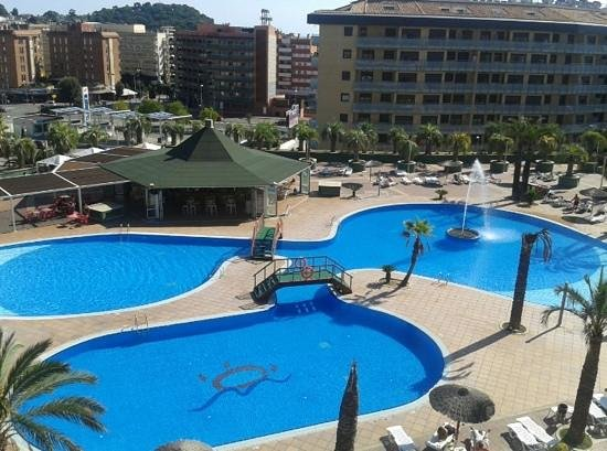 Aparthotel Costa Encantada: View from our room on the 3rd floor