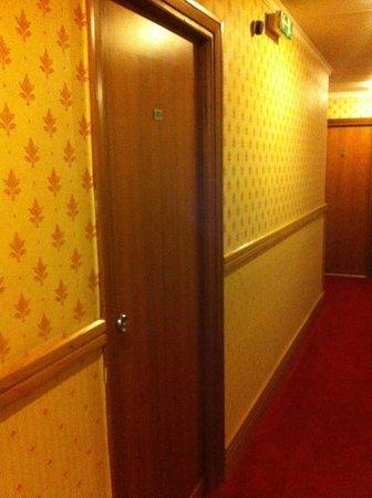 Hotel Clodio: ingresso camera