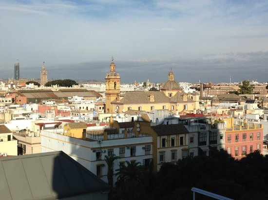 Hotel Sevilla Center: View by day light