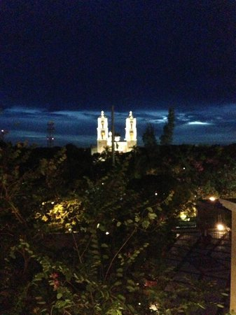El Meson del Marques: Night view from Suite