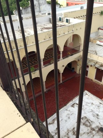 El Meson del Marques: View from Suite Balcony of City