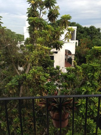 El Meson del Marques: View from Suite of Exterior Hotel