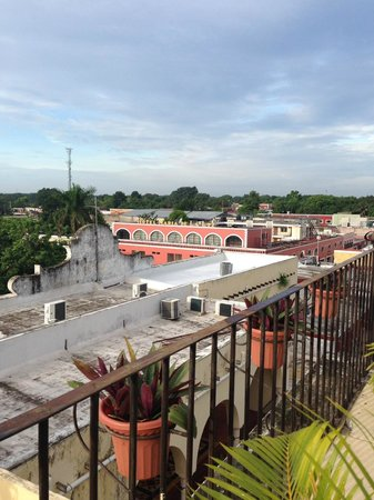 El Meson del Marques : View from Balcony of City