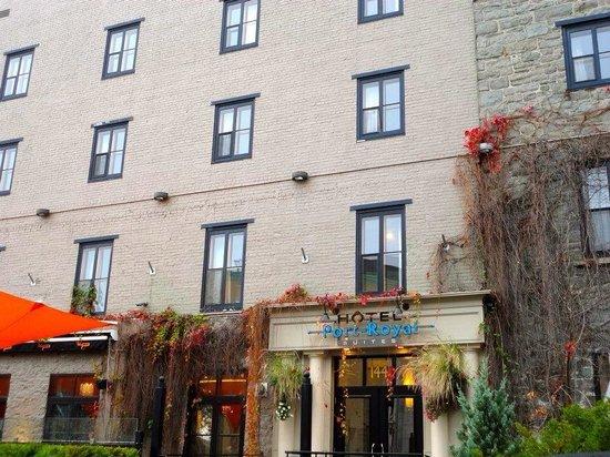 L'Hotel Port-Royal: Front