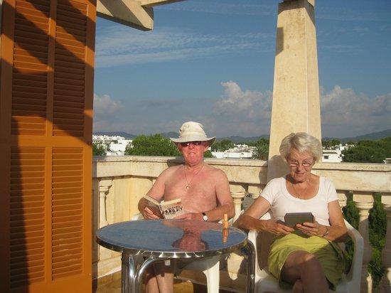 Gavimar La Mirada Club Resort: Balcony