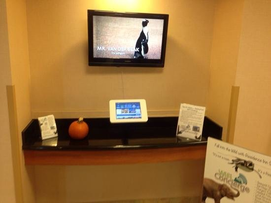 Residence Inn San Diego Mission Valley: Use the online concierge system to save time and money