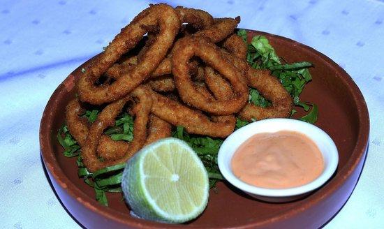 Bonita Inn: Fried Calamari