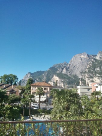 Hotel Garda - TonelliHotels: View from Balcony